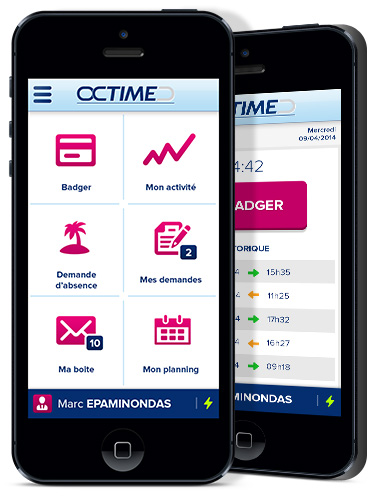 Octime Application Mobile