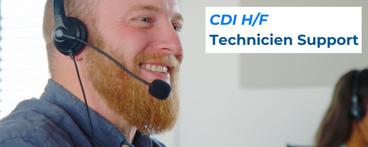 cdi technicien support octime